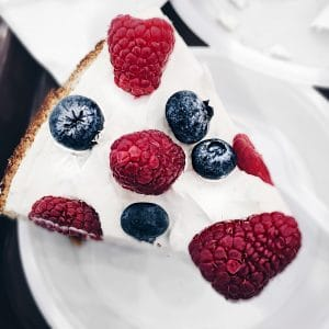 All American Mixed Berry Cheesecake